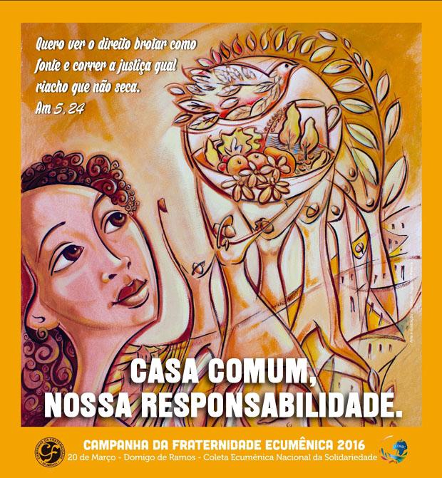 Cartaz Campanha da Fraternidade 2016