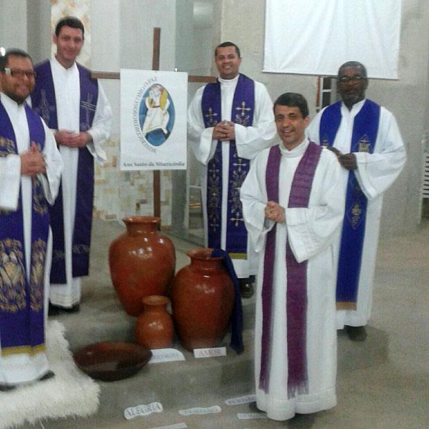 As confissões aconteceram na Igreja Matriz de Aracatu