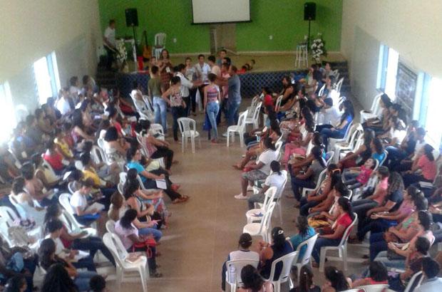 O encontrão da catequese foi realizado em Riacho de Santana
