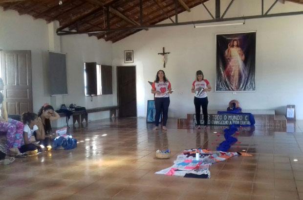 O encontro aconteceu na Casa de Retiro São Francisco Xavier, em Guajeru. Fotos: Zete Coutinho/PASCOM Guajeru